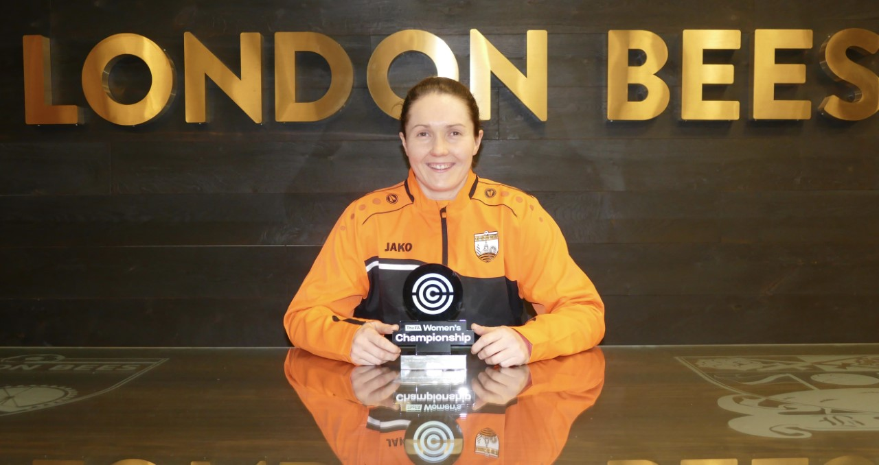 Sarah Quantrill awarded FAWC Player Of The Month!